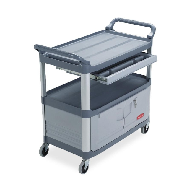 Rubbermaid Instrument Cart 409400 GRAY RCP409400