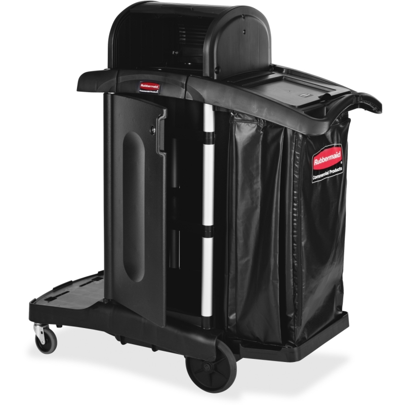 Rubbermaid High Security Executive Janitor Cleaning Cart 1861427 RCP1861427