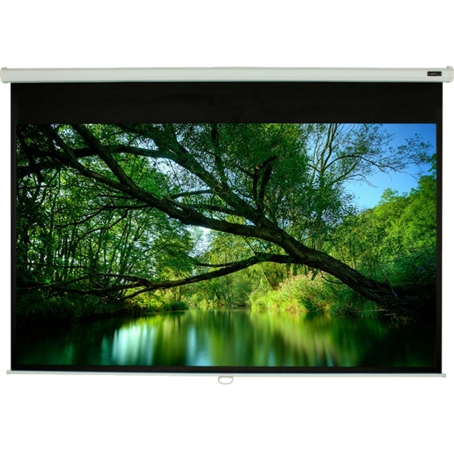 "EluneVision 120"" Manual Pull-Down Projector Screen EV-M-120-1.2-4:3"