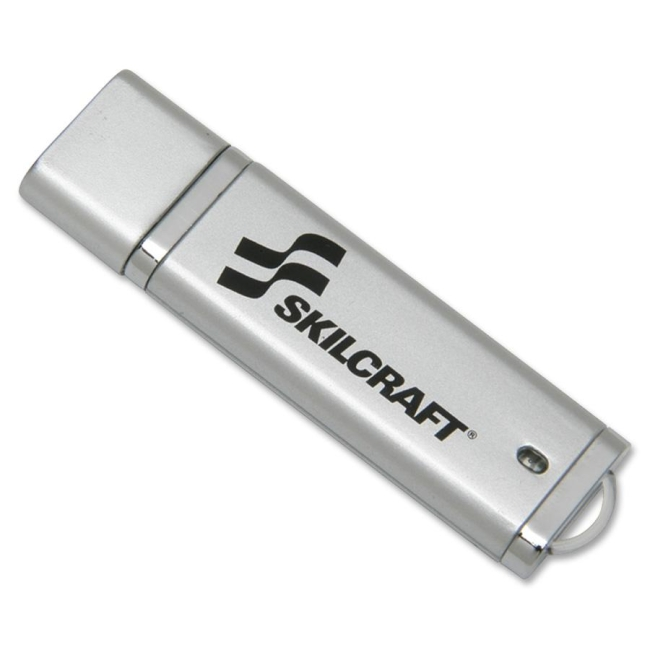 SKILCRAFT 2GB USB 2.0 Flash Drive 7045-01-558-4986 NSN5584986