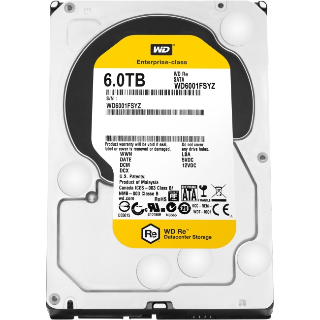 Western Digital RE 600 Hard Drive WD6001FSYZ
