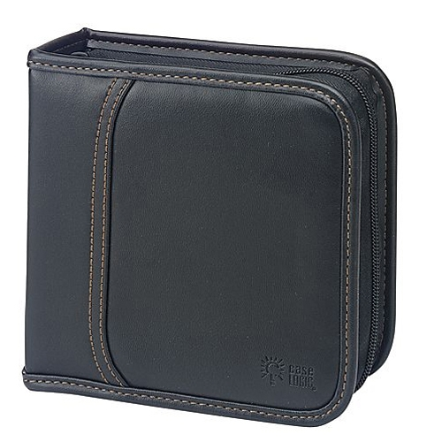 Case Logic 32 Capacity CD Wallet KSW-32 BLACK