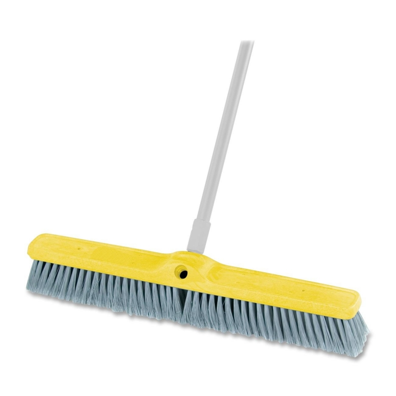 Rubbermaid Fine Floor Sweep Broom 9B0200 GRAY RCP9B0200GY