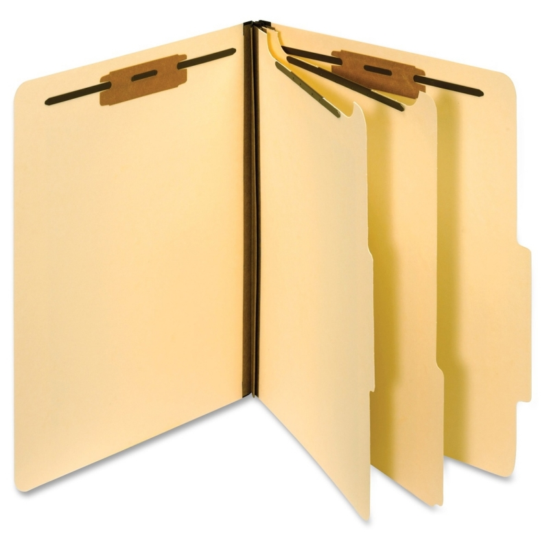 Smead End Tab Guides Blank Horizontal Metal Tabs