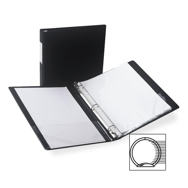 Samsill Antimicrobial Locking Round Ring Binder 14310 SAM14310