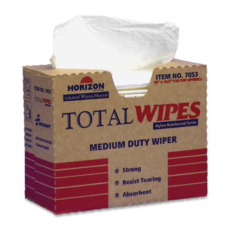 SKILCRAFT Medium-Duty Wiping Towel 7920-01-448-7053 NSN4487053