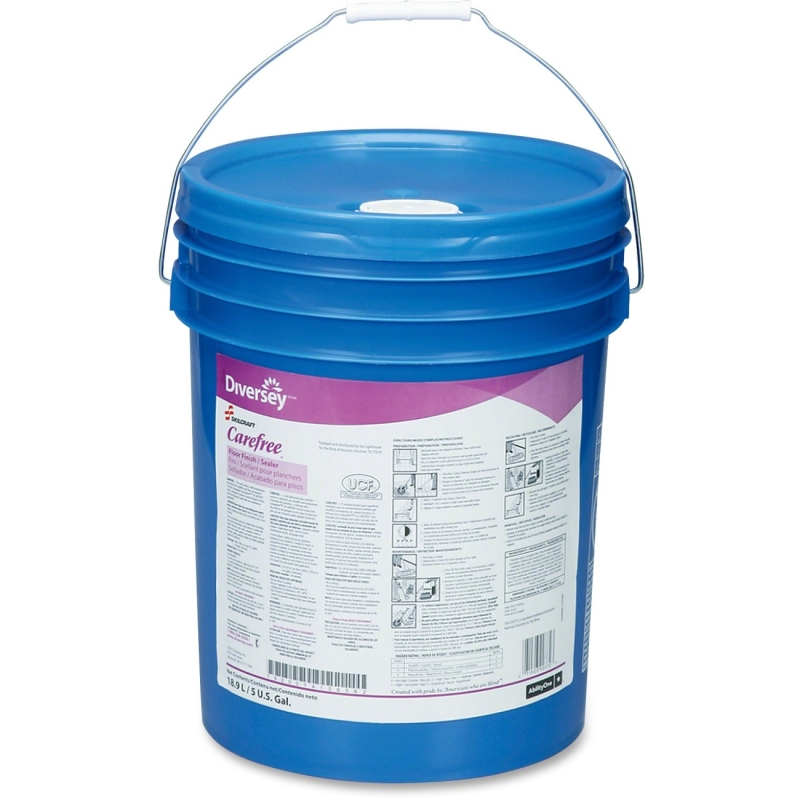 SKILCRAFT Carefree Floor Sealer/Finish - 5 gal Pail 7930014108562 NSN4108562