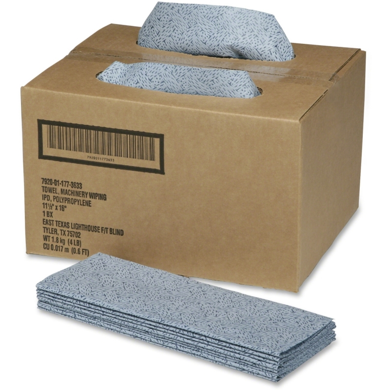 SKILCRAFT ScrubWipes Preparation Wipers - 150 per Dispenser Box 7920011773633 NSN1773633