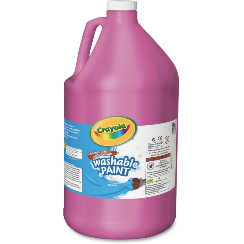 Crayola 1 Gallon Washable Paint 54-2128-069 CYO542128069