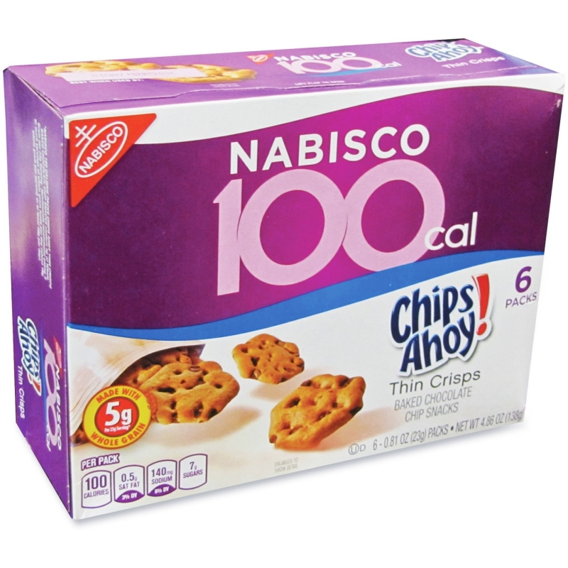 Chips Ahoy! 100-Calorie Chips Ahoy Cookie Snack Pack 6102 NFG6102
