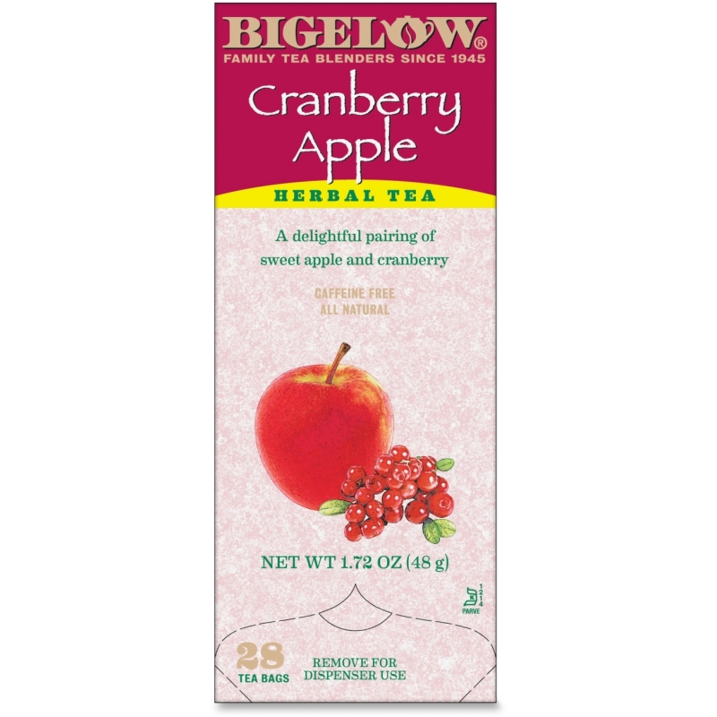 Bigelow Tea Cranberry Apple Herbal Tea 10400 BTC10400