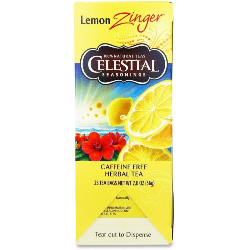 Celestial Seasonings Lemon Zinger Tea 31010 CST31010