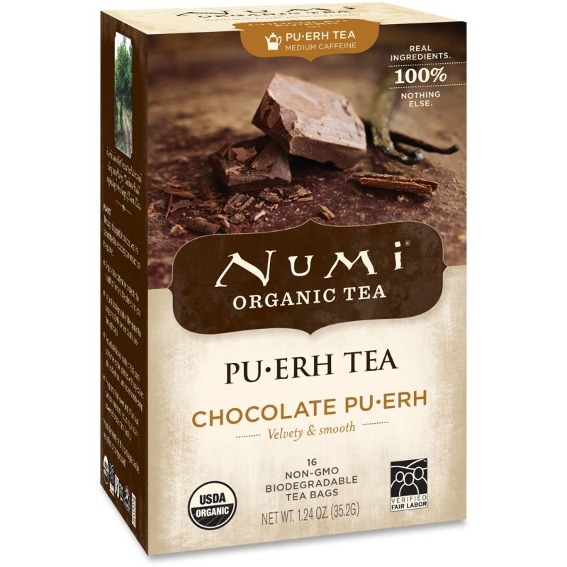 Numi Organic Chocolate Puerh Tea 10360 NUM10360
