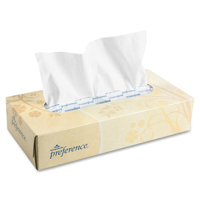 Georgia-Pacific Preference Facial Tissue 47000CT GPC48100CT