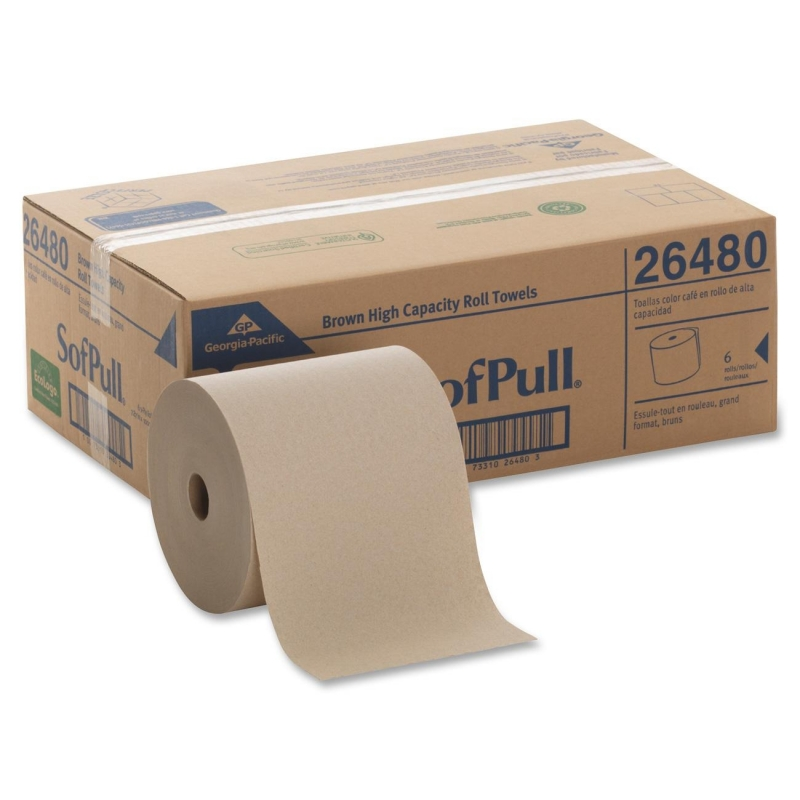 SofPull Hardwound Roll Paper Towel 26480 GPC26480