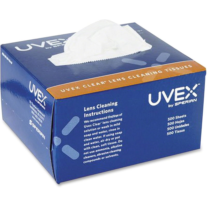 Uvex Lens Cleaning Tissues (500/bx) S462 UVXS462