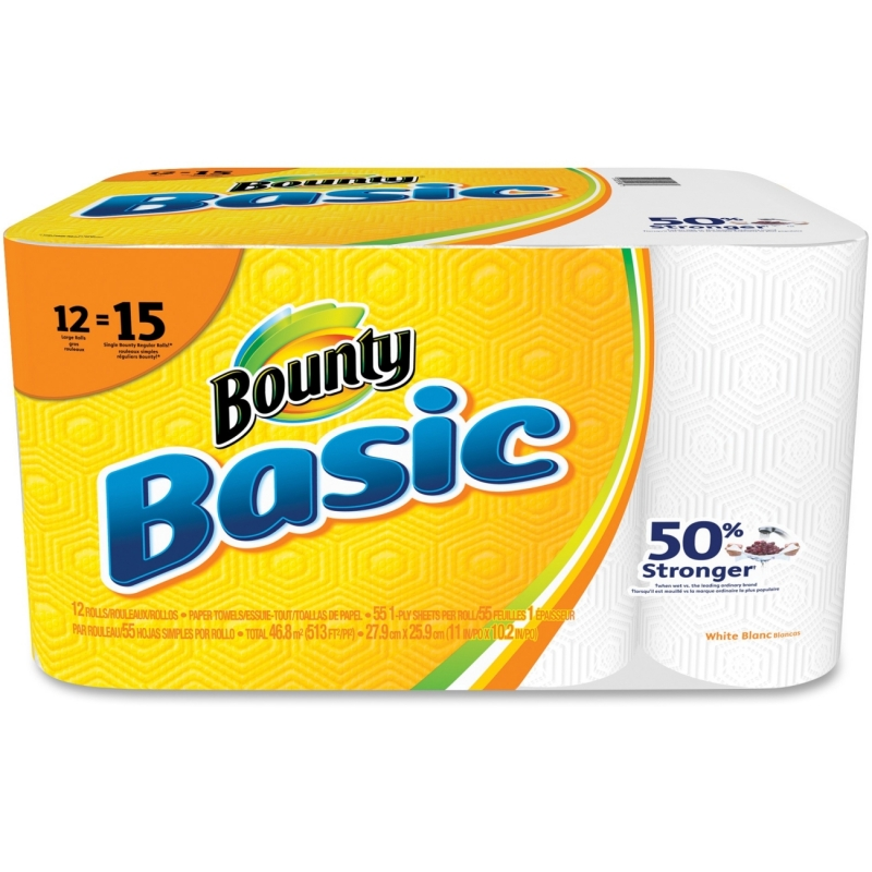 Bounty Basic Paper Towel Roll 92968 PGC92968