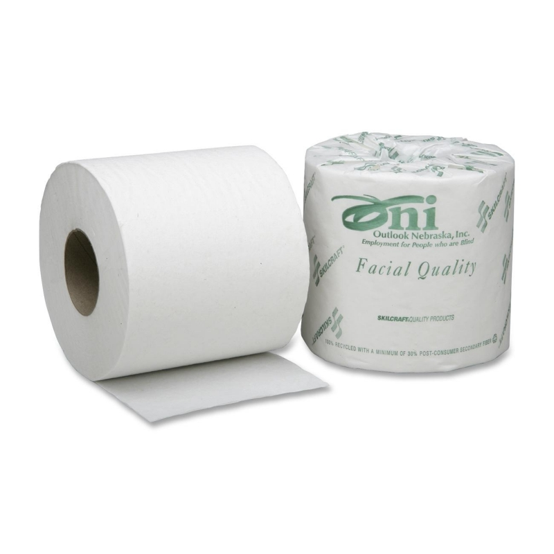 SKILCRAFT Single Ply Toilet Tissue Paper 8540-00-530-3770 NSN5303770
