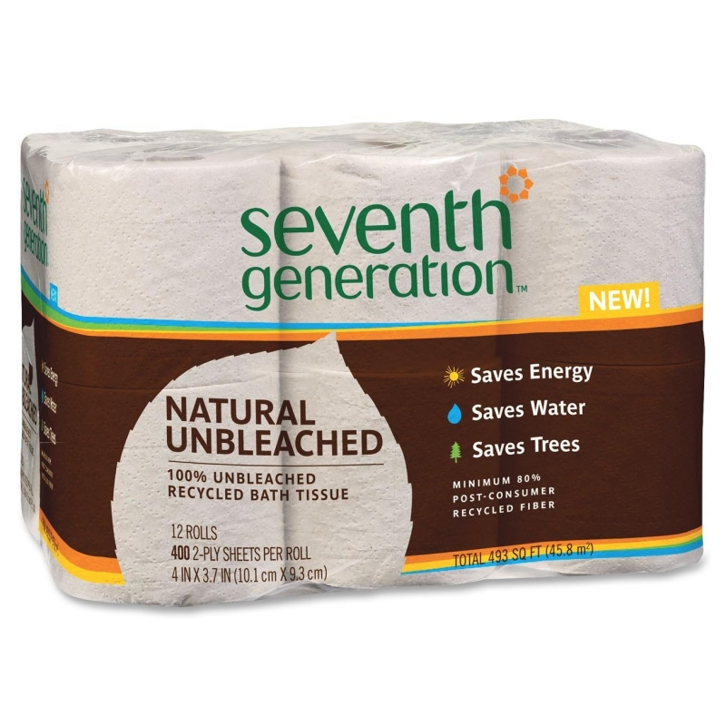 Seventh Generation Recycled Unbleached Bathroom Tissue 13735 SEV13735