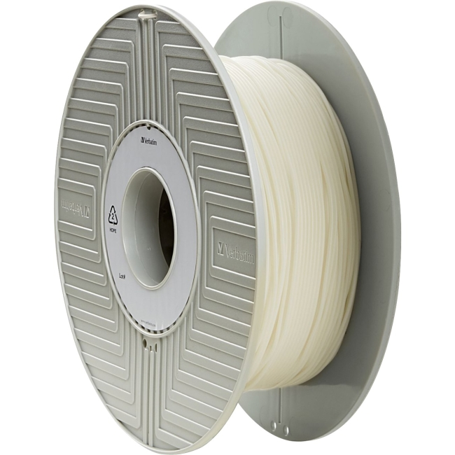 Verbatim 3D Filament, Flexible, PRIMALLOY 1.75mm 500g Reel - White 55500