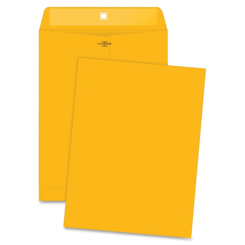 Business Source Rugged Kraft Clasp Envelope 04424 BSN04424