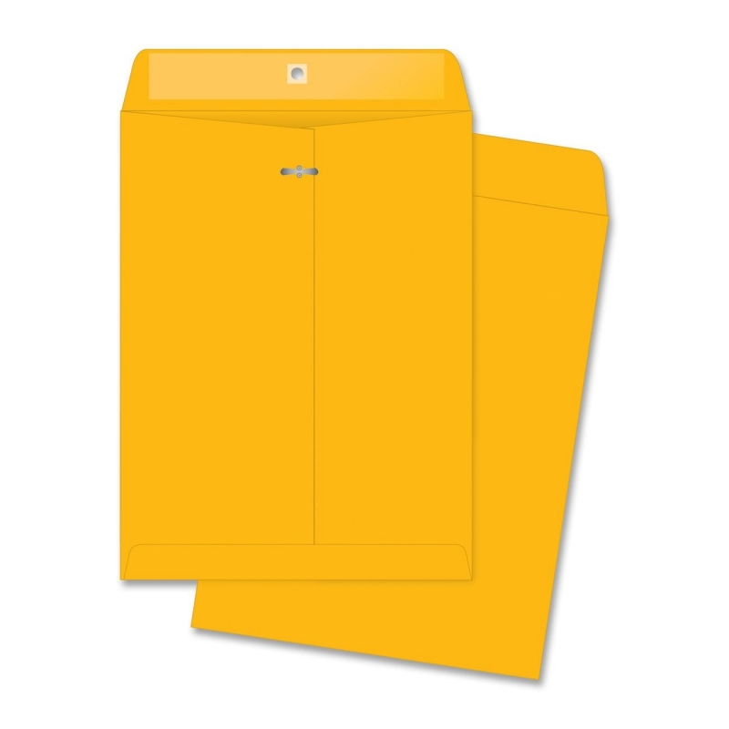 Business Source Rugged Kraft Clasp Envelope 04426 BSN04426