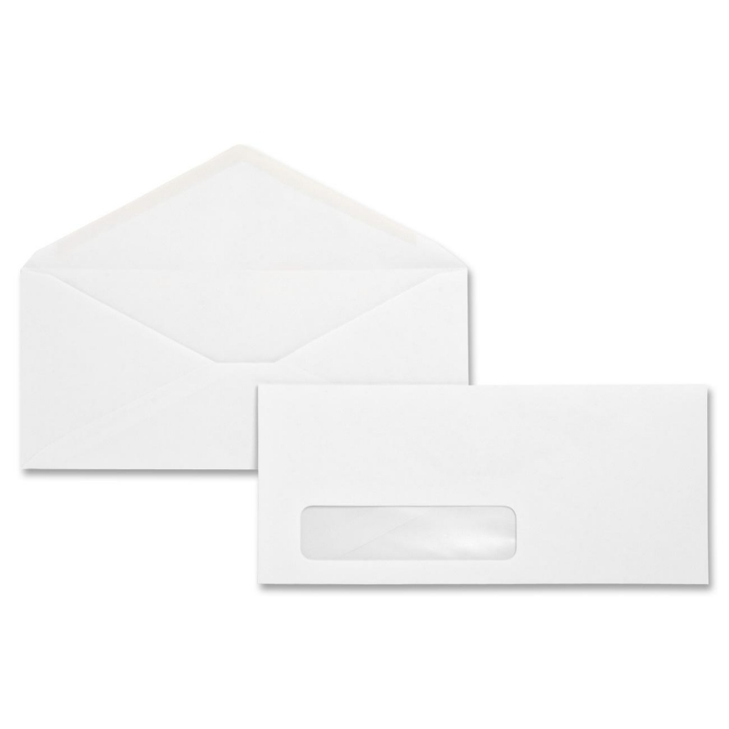 Business Source No. 10 Window Business Envelope 04468 BSN04468