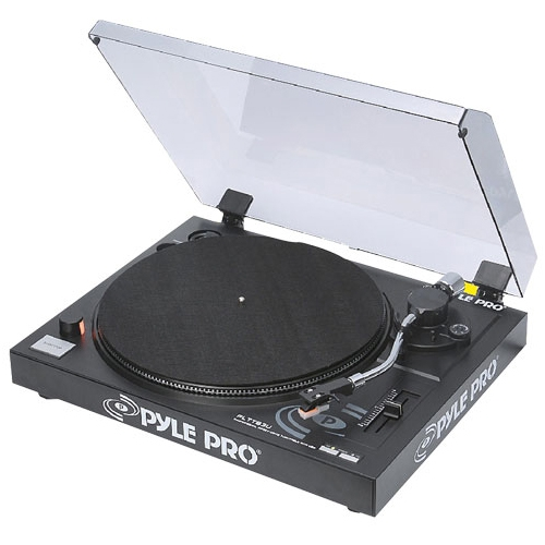 Pyle Record Turntable PLTTB3U