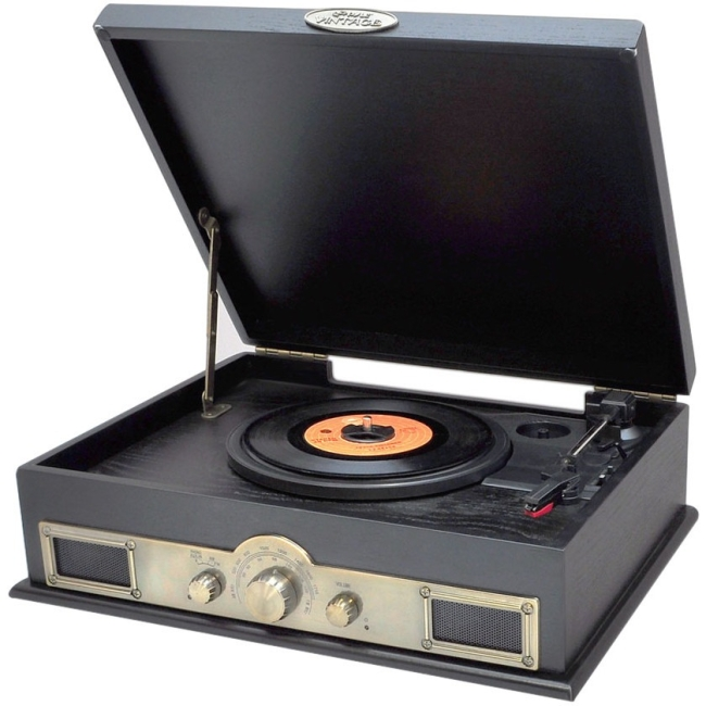 Pyle Record Turntable PTT30BK