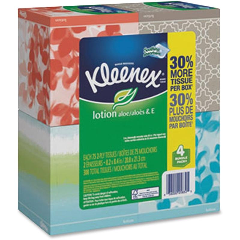 Kleenex Lotion Facial Tissue 25834 KCC25834
