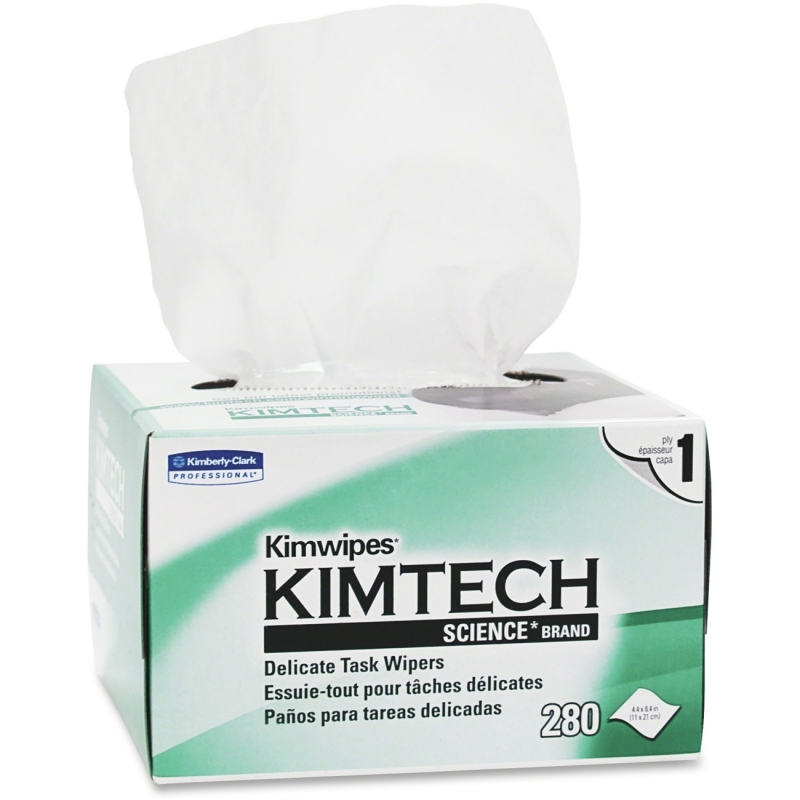 KIMTECH Kimwipes Delicate Task Wipes 34155CT KCC34155CT