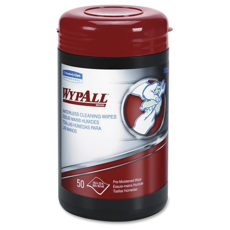 Wypall Heavy-duty Waterless Cleaning Wipes 58310CT KCC58310CT