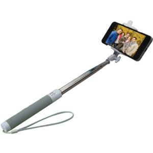 GabbaGoods #TheSelfie Stick - Bluetooth Selfie Stick GG-SST-GRY