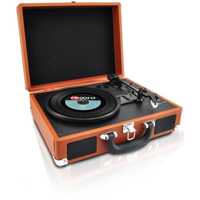 Pyle Record Turntable PVTTBT6BR