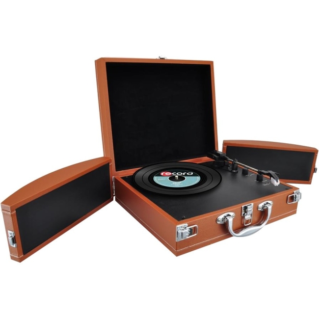 Pyle Record Turntable PVTTBT8BR