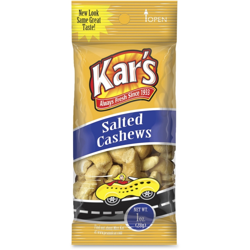 Kar's Nuts Salted Cashews SN08381 KARSN08381