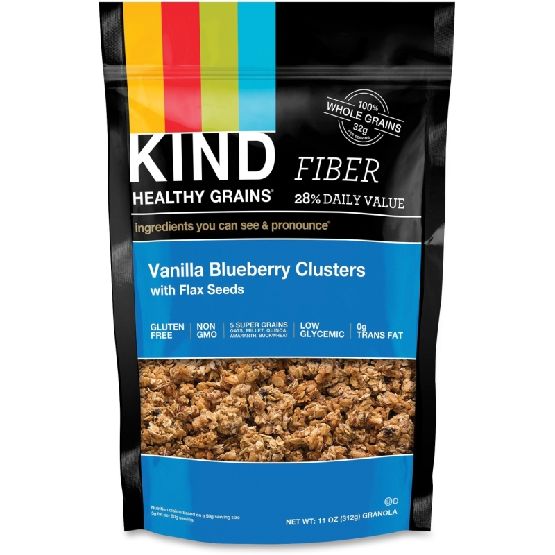KIND Healthy Grains Vanilla BBerry Clusters Snack 17285 KND17285
