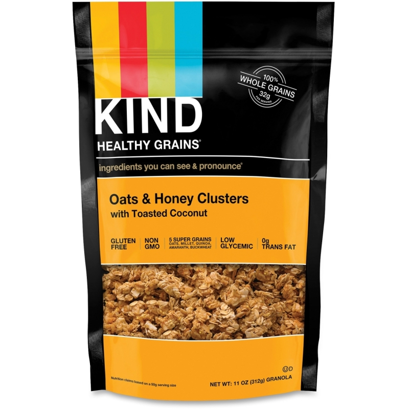KIND Healthy Grains Oats/Honey Clusters Snack 17286 KND17286