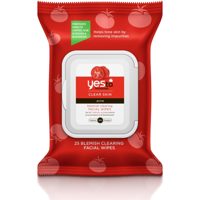 Yes To Tomatoes Blemish Clearing Facial Wipes 25 ct 2331167