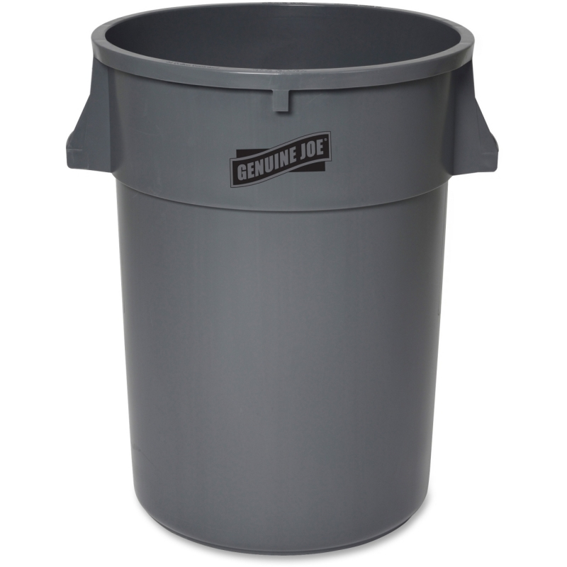 Genuine Joe 44-Gallon Heavy-duty Trash Container 11581 GJO11581