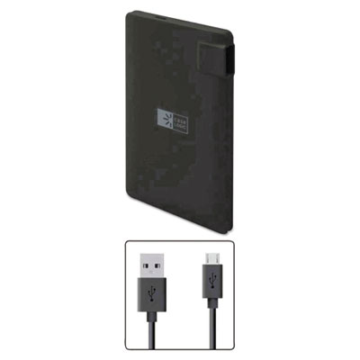 Case Logic Power Bank, 2200 mAh, Black BTHCLPB22102BK CLPB22102BK