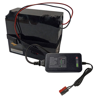 Nomad by Palmer Hamilton Reload Charger and Battery, 12V, Black PHLRLCB RLCB