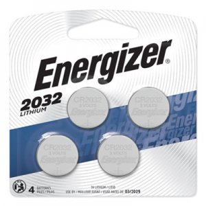 Energizer Watch/Electronic/Specialty Battery, 2032, 3V, 4/Pack EVE2032BP4 2032BP-4