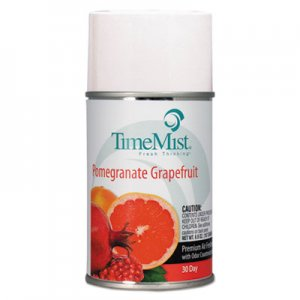 TimeMist Metered Aerosol Fragrance Refill, Pomegranate Grapefruit, 6.6 oz Aerosol, 12/CT TMS1047605CT 1047605