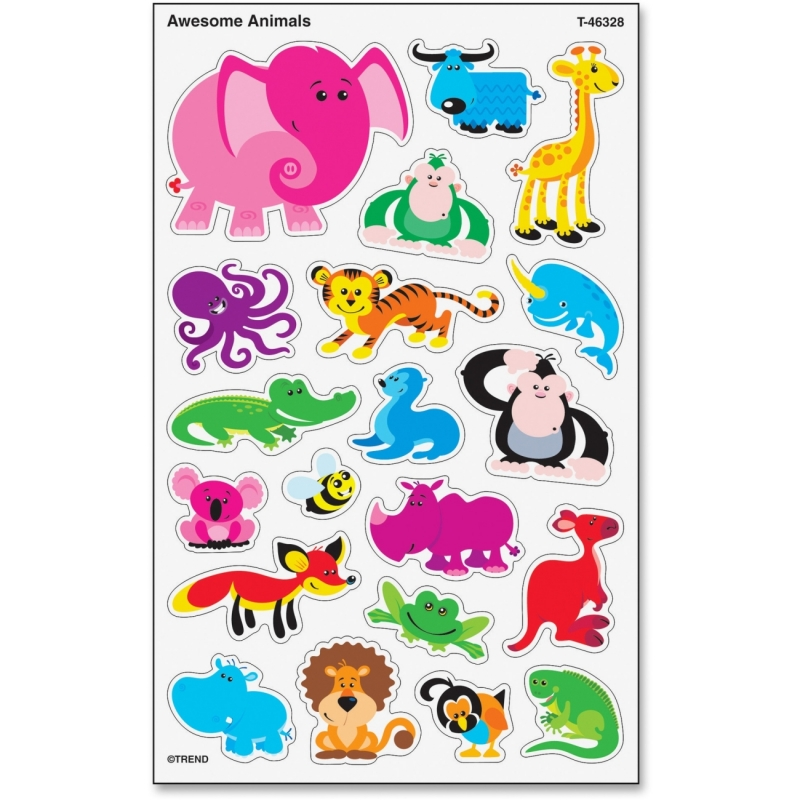 Trend Large Animals superShapes Stickers 46328 TEP46328