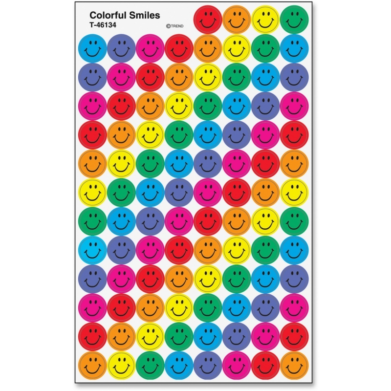 Trend Colorful Smiles superSpots Stickers 46134 TEP46134