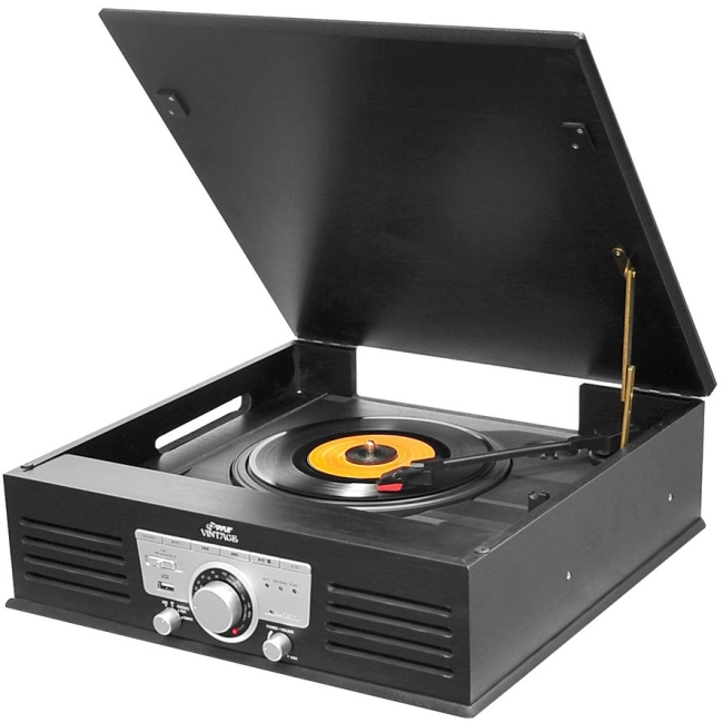 PyleHome Record Turntable PTT25UBT