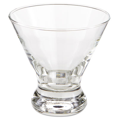 "Libbey Cosmopolitan Beverage Glasses, Cocktail/Dessert, 8.25 oz, 3 7/8"" Tall LIB400 10031009364098"