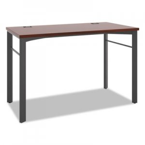 basyx Manage Series Desk Table, 48w x 23 1/2d x 29 1/2h, Chestnut BSXMNG48WKSLC