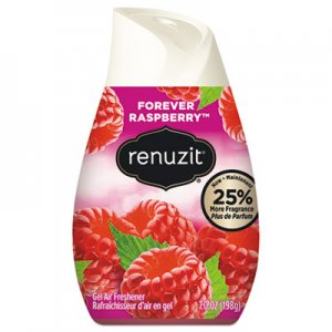 Renuzit Adjustables Air Freshener, Forever Raspberry, Solid, 7 oz, 12/Carton DIA03667CT DIA 03667